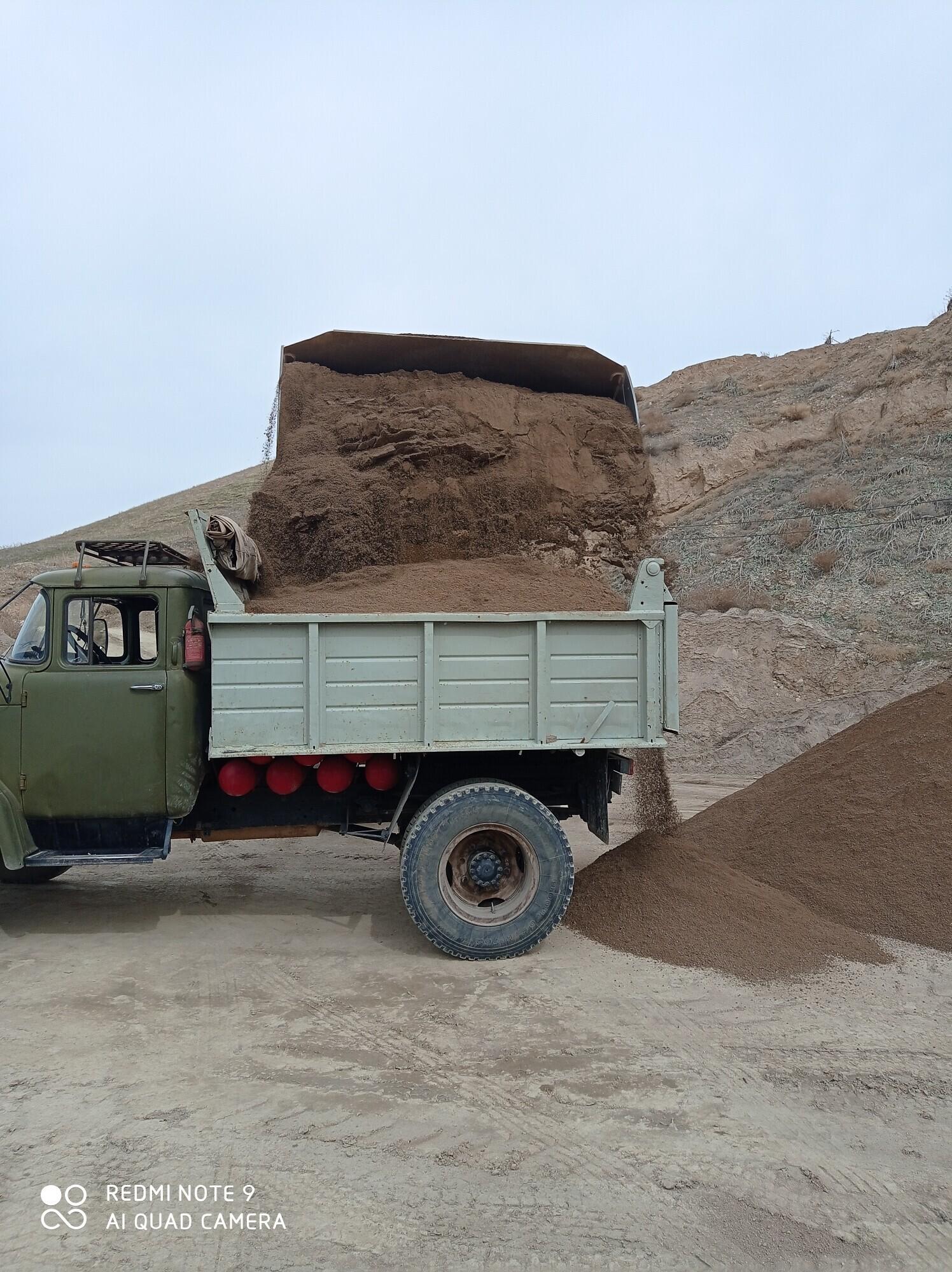 доставка грузов Отсев песок щебень смесь Чернозём - Бизнес-профиль компании на lalafo.kg | Кыргызстан