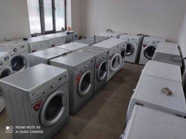 стирать подушку в стиральной в Кыргызстан: Фронтальная Автоматическая Стиральная Машина LG 5 кг