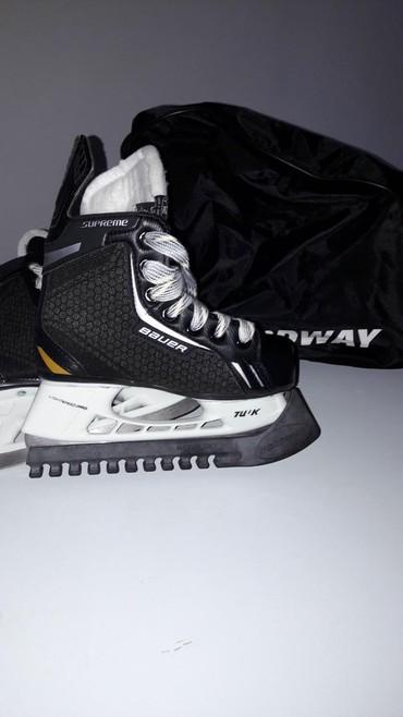 Коньки в Кыргызстан: Детские хоккейные коньки. Новые. Размер 31Bauer Supreme pro