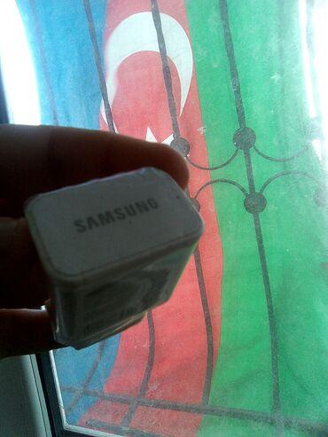 Qutudan Çıxan Sürətli Şarj Samsung Adaptoru.Qiymet 3 Manat