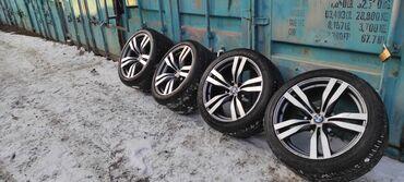 продажа дисков на бмв в Кыргызстан: В продаже диски BMW X5 2 диска вареные передний и задний на фото видно