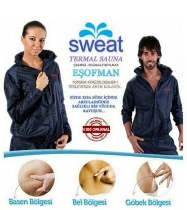 Arıqlama Eşofman. Sweat firması təmiz Türk malı. Hər razmeri var. Qısa