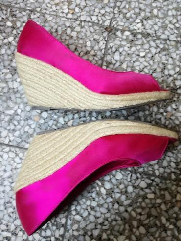 Pink kosuljoca - Srbija: H&M preelepee!Samo dva puta nosene kao nove,pink saten,broj 39,ja