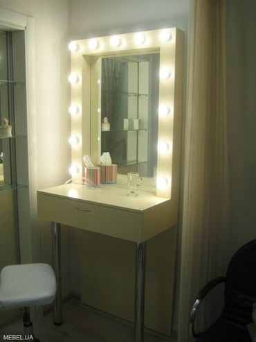 рамка для зеркала в Кыргызстан: Гримерное зеркало БишкекИзготавливаем гримерные зеркала и столы для