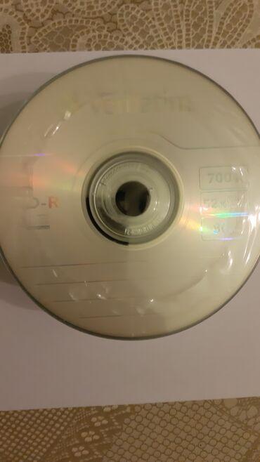 Laptopovi - Srbija: Verbatim CD-R 50 kom brzina rezanja 52x NOVOPeuzimanje:Licno