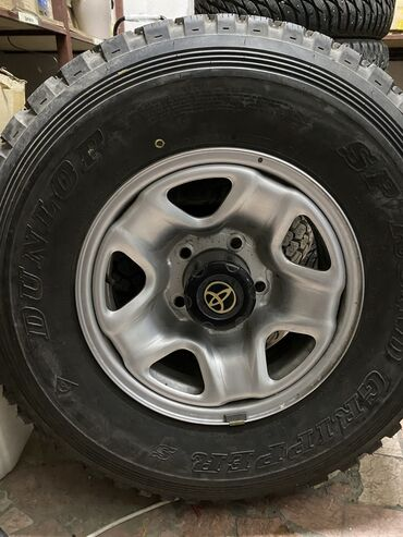 диски шкода 16 в Кыргызстан: 235/85 R16. 4 шт с дисками