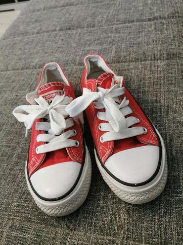 Ženska obuća | Vrsac: Crvene starkice 34.broj Ocuvane