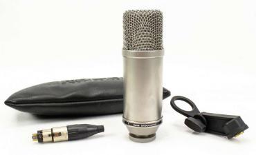 "evlər studiya - Azərbaycan: Rode Broadcaster - studiya mikrofonu made in AustraliaHF2 1"" capsule"