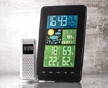 Kucni-aparati - Srbija: Bezicni digitalni termometar, sat sa alarmom, datumom. Istovremeno