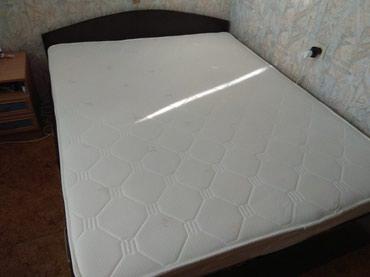 Двухспальная кровать (160 на 200) матрас в Бишкек