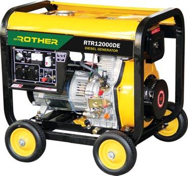 Дизельный генератор RTR12000DE в Бишкек
