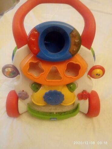Детские ходунки с музыкой на батарейке