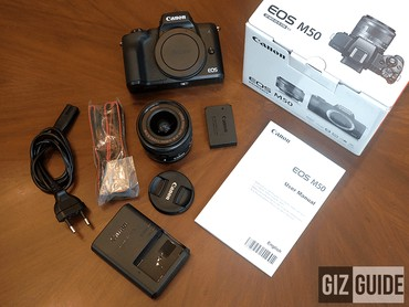 Canon EOS M50 Mirrorless Camera в Алга