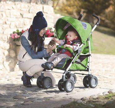 """прогулочные-коляски-трехколесные в Кыргызстан: Коляска-трость Chicco """"Multiway Evo"""" GreenПродается итальянская"""