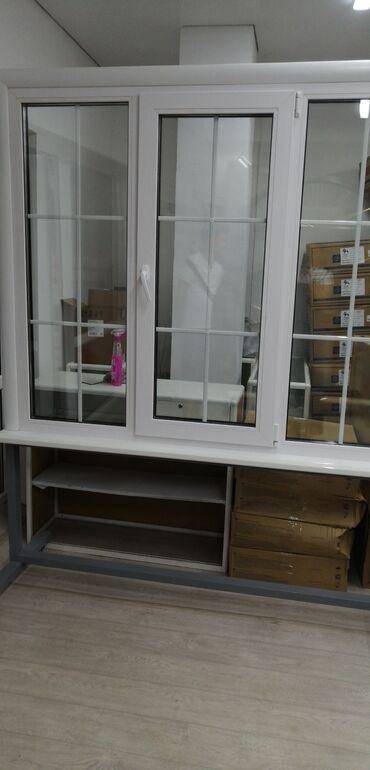 пвх пластик бишкек in Кыргызстан | ОКНА: Двери | Установка, Изготовление