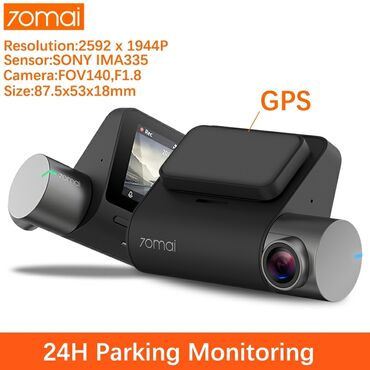 70 - Azərbaycan: 70 mai pro dashcam+GPS. Az islenib. Demək olar ki təzədir. 2 kameralı