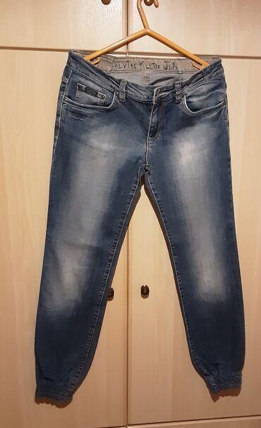 Calvin Klein Jeans, size M/L, χρώμα : ανοιχτό μπλε, ελάχιστα