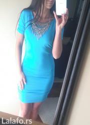 Haljina st - Srbija: Odlična blondy kratka haljina sa golim ledjima. Stanje haljine je