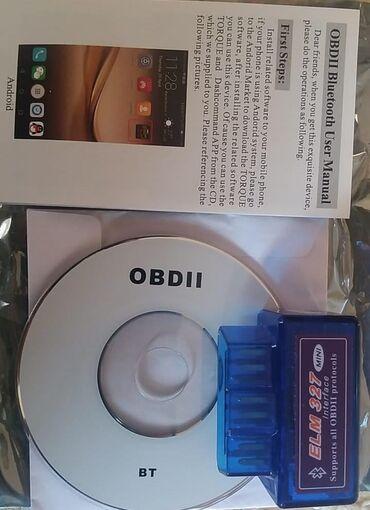 """зарядное 5v в Азербайджан: Diaqnostika cihazı """"ELM327 1.5V bluetooth""""   ELM327 Bluetooth OBD II e"""
