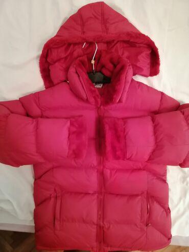 Zimske jakne sa krznom - Srbija: Zimska jakna, potpuno očuvana, bez ikakvih tragova nošenja(nošenja skr