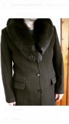 Продаю пальто корич. цвета англис. воротник. Одела 3раза почти нов в Бишкек