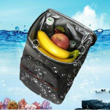 Рюкзак холодильник, термо-рюкзак 18 литров черный+бесплатная доставка