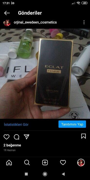 eclat femme - Azərbaycan: Eclat femme xanımlar üçün ətir 50ml Istəyən olsa endirim olacaq