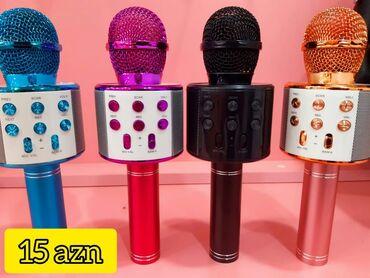 Karaoke mikrafonlar