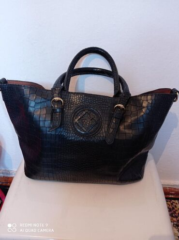 Кожаная сумка 500 сом
