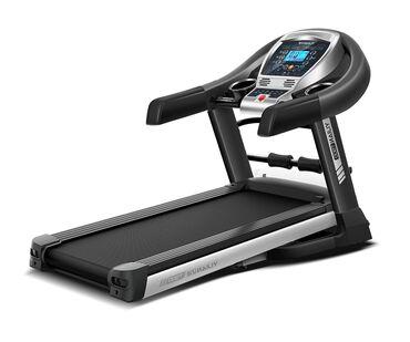 Удобная беговая дорожка T900 для домашних тренировок поможет укрепить