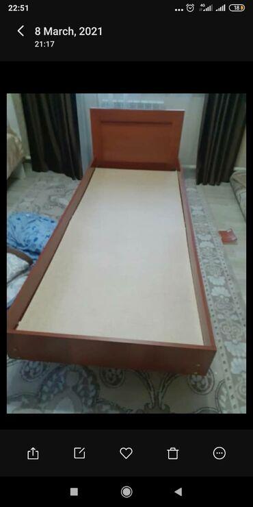 Продаю кровать размер 0.80 на 1.90м практически новая пользовались все