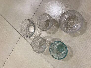 Другая посуда в Кыргызстан: Вазочки 5 штук . Просмотрите профиль