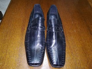 Kožne muške cipele dva puta obuvene kao nove. - Obrenovac