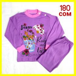 Пижамки для девочек  На 4-5 лет Цена: 180 сом в Бишкек