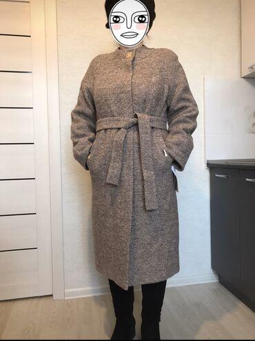 Пальто - Размер: M - Бишкек: Срочно продаём новое, утеплённое российское пальто! Очень красиво сиди