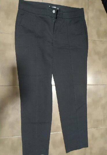 мужские черные брюки в Кыргызстан: Женские брюки Mango S