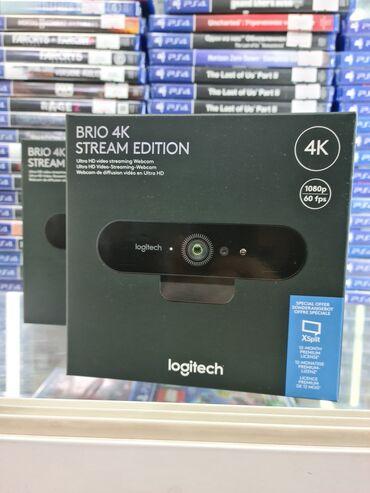 13200 объявлений: Web камера Logitech Brio 4K stream edition Цена - 17900 сомГарантия -