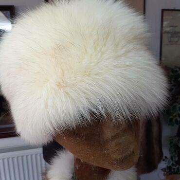 Avo krzno obim - Srbija: Subara od polarne lisice. Prirodno krzno. Obim 59cm