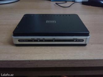 Adsl modem d-link satilir, 1 lan portu var,ishlenib, ela
