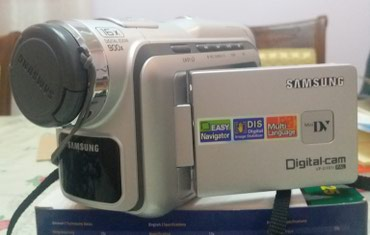 Продаю видеокамеру Samsung. В рабочем состоянии в Бишкек