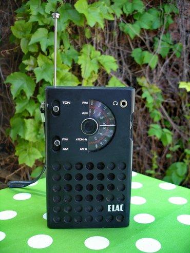 Odličan manji radio tranzistor ELAC, model PR-80, proizveden još - Novi Sad