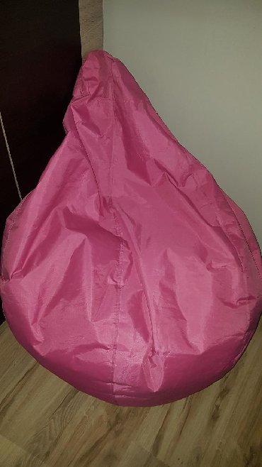 Nameštaj - Negotin: Lazy bag fotelja, pink-roze boje