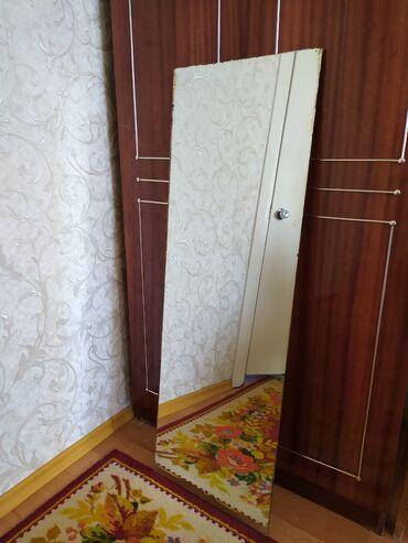 Зеркало без рамы размер 120 *40 см. б/у советское Цена 600 сом
