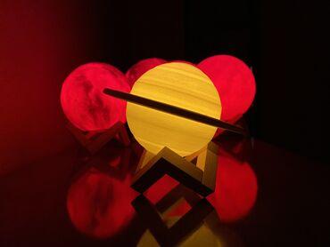 Gece Otaginizi Bezeyecek Lampalarimiz  🌕 Ay Lampa 22 sm Sok qiymet 35
