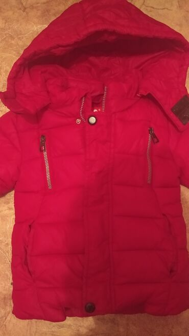 детская качественная одежда в Кыргызстан: Продается детская куртка на рост 92см(2года). зимняя, очень