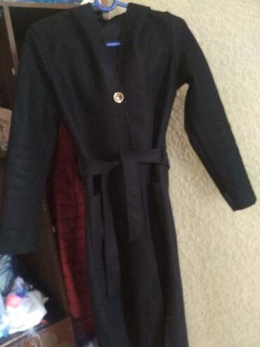 Лёгкое, удобное пальто с капюшоном, размер М,цена700, розовое