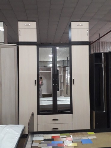 Гаражи - Кыргызстан: Мебел Новай шкаф 210×160 цена 12500 доставка по городу бесплатно