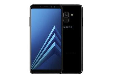 Kreditle evler 2018 - Азербайджан: Новый Samsung Galaxy A8 2018 64 ГБ Черный
