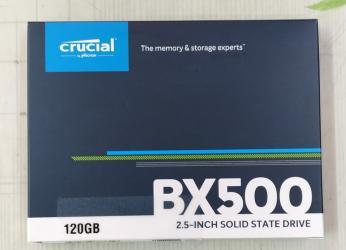 Жесткие диски, переносные винчестеры - Кыргызстан: Жесткий диск SSD 120 Gb CRUCIAL BX500. Новый. Все товары смотрите в