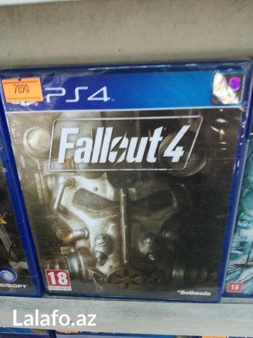 Bakı şəhərində Fallout ps4